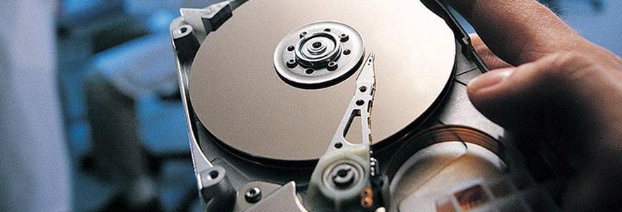 récupérer les données d'un disque dur externe